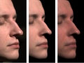 [Acquisition of Human Faces Using A Measurement-Based Skin Reflectance Model]