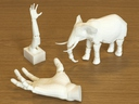 [3D-Printing of Non-Assembly, Articulated Models]